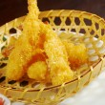 Prawn Ebi tempura bowl — Stock Photo #16493437