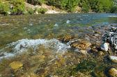Horská řeka. — Stock fotografie