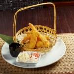 Prawn Ebi tempura bowl — Stock Photo #16811813