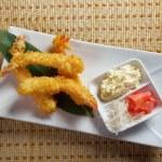 Prawn Ebi tempura bowl — Stock Photo #20107483