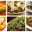 Food set of different asiatic,chinese,Japanes — Stock Photo