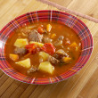 Traditional Bulgarian soup chorba. - Stock Photo