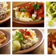 Different  italian pasta. - Stock Photo