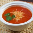 Stock Photo: Thick and hearty tomato soup