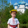 Russian little boy — Stock Photo #26701091