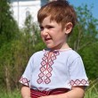 Russian little boy — Stock Photo