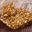 Peanut brittle sweet hard — Stock Photo