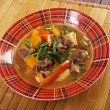 Irish stew with tender lamb meat — Photo