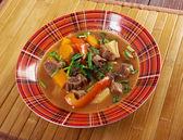 Irish stew with tender lamb meat — Stock Photo