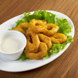 Onion Rings Breaded — Stock Photo #27571035
