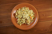 Chicken l pilaf — Stock Photo