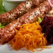 Caucasian Luleh kebab — Stock Photo