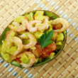 Avocado and Shrimps Salad — Stock Photo #28685631