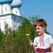 Russian little boy — Stock Photo #28685715