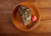 烤牛肉农场-样式 — 图库照片