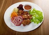 Shashlik (shish kebab) — Stock Photo