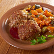 Stock Photo: Meatballs beef