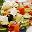 Stock Photo: Greek salad with feta
