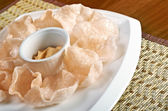 Prawn Crackers — 图库照片