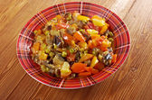 Country stew - gyuvech. — Stock Photo