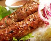 Caucasian Luleh kebab — Stock Photo