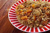 Belorussian Buckwheat porridge — Stock Photo
