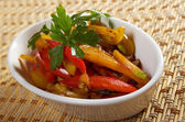 Stir Fried Vegetables roasted — Stock Photo