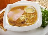 Delicious miso ramen. — Stock Photo