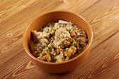 Russian Buckwheat porridge — Stock Photo