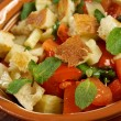 Stock Photo: Fattoush - Lebanese Salad