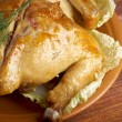 Stock Photo: Pollo alldiavola