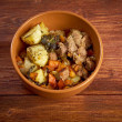 Stew with Carrots and Potatoes — Zdjęcie stockowe