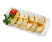Codfish tempura — Stock Photo