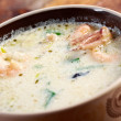 Stock Photo: Seafood Chowder