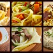 Set of different  asian  country cuisine — Stock Photo
