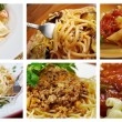 Set of different italian pasta. — Stock Photo