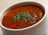 Hearty spicy Mexican soup — 图库照片