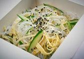 Fideos de arroz chino. — Foto de Stock