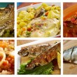 Food set of different seafoods. — Stock Photo #38751777