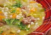 Scotch Broth Soup — Stock Photo