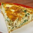 Quiche with halibut — Stock Photo #39882559