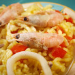 Stock Photo: Spanish Paellde Marisco