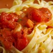Stock Photo: Sicilihomemade pastFettuccine