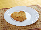 Viennese Schnitzel — Stock Photo