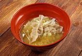 Dim sum samtal gyoza, asiatisk tradition mat. — Stockfoto
