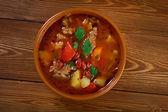 Eintopf -Traditional german cuisine dish. — Foto Stock