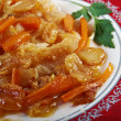 Stock Photo: Escabeche or fried fish