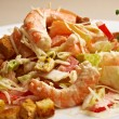 Salad with Shrimps — Stock Photo #40994761