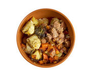 Stew with Carrots and Potatoes — Stock Photo