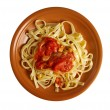 Stock Photo: Sicilihomemade   past Fettuccine
